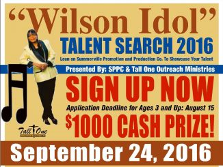 Wilson Idol 2016. Source: Summerville Promotion and Production Co., Wilson NC.