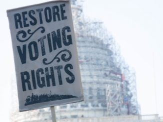 Federal labor leader and North Carolina native J. David Cox Sr. today hailed a federal appeals court ruling overturning the state's restrictive voting laws. Source: PRNewsFoto/AFGE.