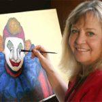 Artist Clina Polloni. Source: Franklin County Arts Council, Franklinton NC.