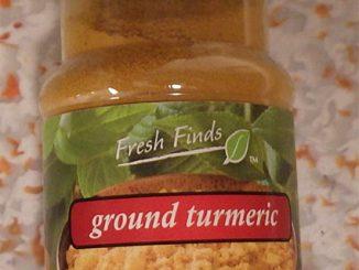Fresh Finds Ground Tumeric label. Source: US FDA.