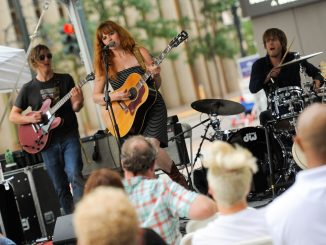 Unwind after work at Summer on the Plaza, a free outdoor concert series at 1801 California in Downtown Denver every Wednesday in July. Source: artsbrookfield.com.