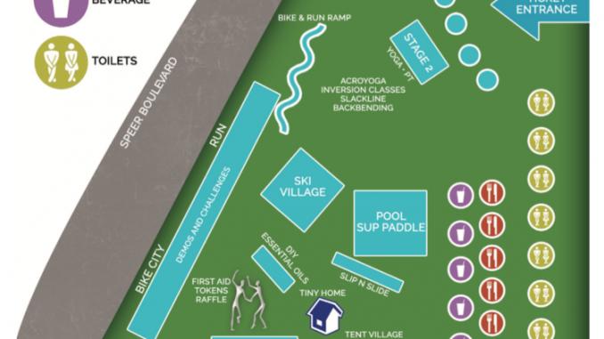 Gosciety map for September fest in Denver CO. Source: adventurefest2016.com.