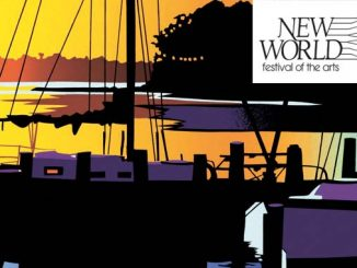 The New World Festival of the Arts is August 17-18, 2016. Credit: Artist Joseph Craig English image, released by the Dare County Arts Council, Manteo NC.