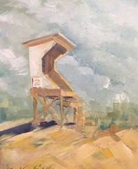 "Kirah Van Sickle ""Guard Stand #2"". Source: Mary Bradley, WHQR."
