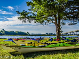 Sunset Beach Waterfront Park Staging For Race. Source: PRNewsFoto/Sunset Beach Business and Merchants Association, North Carolina.