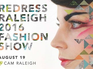 Redress 2016 Fashion Show poster. Source: Redress Raleigh NC.