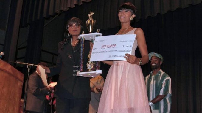 Wilson Idol 2015 Winner. Source: Dr. Mildred Summerville / PVICK Studio.