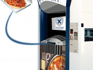 Xavier University branded Pizza ATM. Source: Paline (www.paline.com).