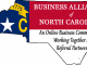 Business Alliance of NC logo