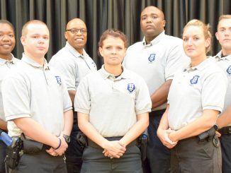 Nash Community College's 46th Basic Law Enforcement Training Academy August 2, 2016, graduates. Source: NCC PR Dept., Rocky Mount NC.