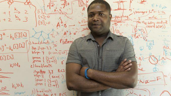IBM Research Scientist, Gavin O. Jones, Ph.D., who who led the plastics study. Source: IBM Research - Almaden, San Jose CA.