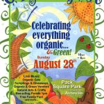 Poster for 2016 Organicfest, Asheville NC.