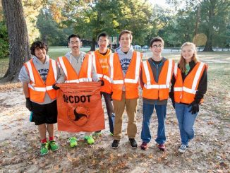 Volunteers during the Big Sweep 2015. Source: City of Rocky Mount NC.