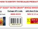 Kellogg's® Eggo® Nutri-Grain® Whole Wheat Waffles recalled for potential Listeria. Source: FDA.gov.