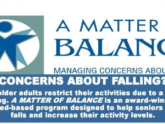 A Matter of Balance workshop. Source: Upper Coastal Plain Area Agency on Aging, Region L, North Carolina.