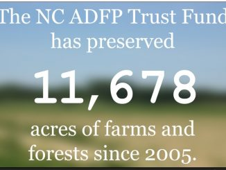 A slide from the NCDA&CS website's slideshow on the NC ADFP.