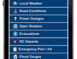 September is Emergency Preparedness Month. Download the mobile app from ReadyNC.org.