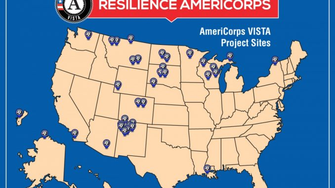 Resilience AmeriCorps in Tribal Communities. Source: NationalService.gov.