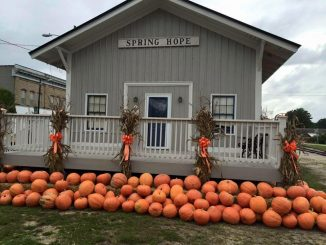 Annual Spring Hope National Pumpkin Festival is September 30-October 1, 2016. Photo: Jan Mills, Spring Hope NC.