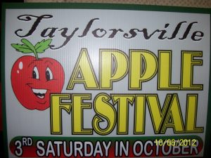 Source: Taylorsville Apple Festival, Inc., Taylorsville NC.
