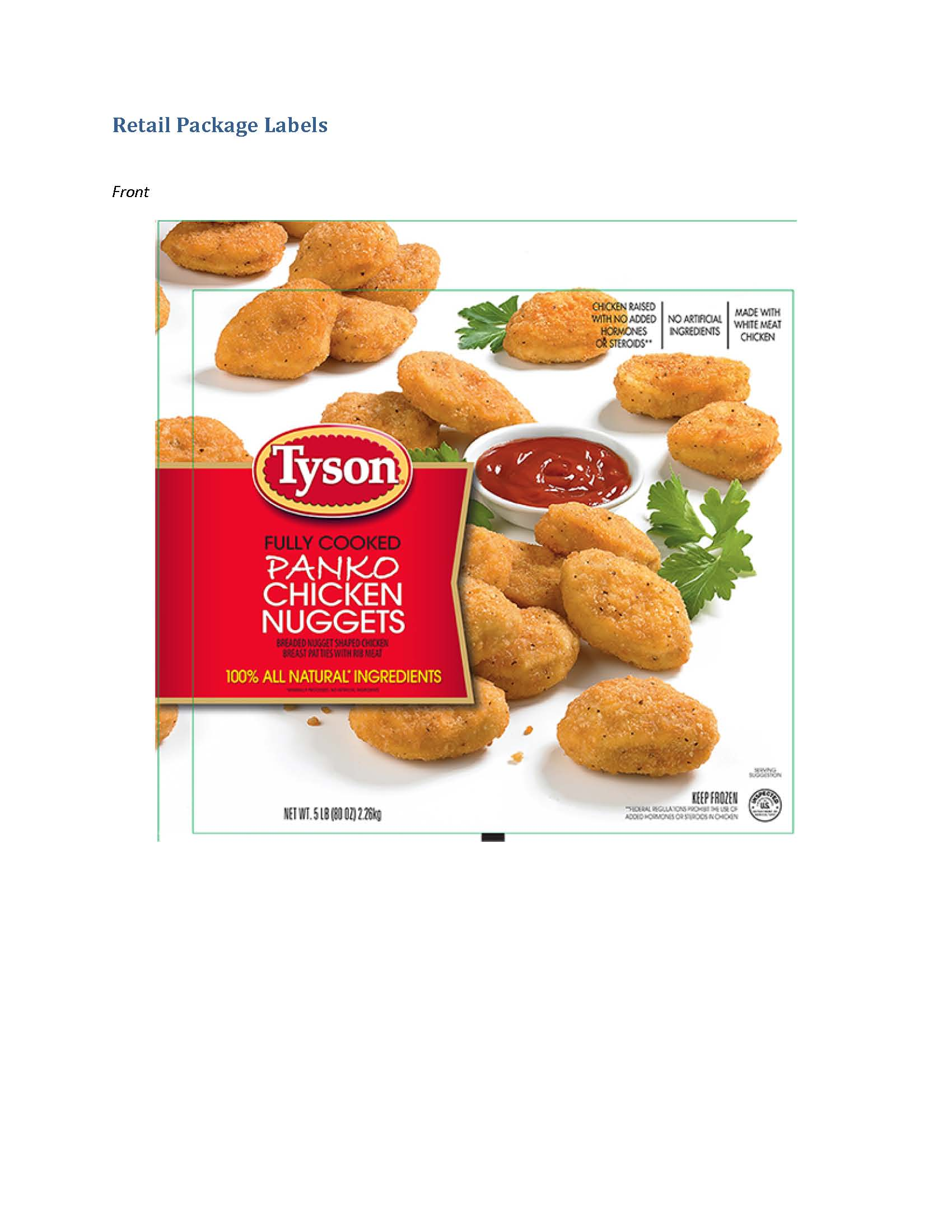 tyson chicken nuggets recalled for potential hard-plastic