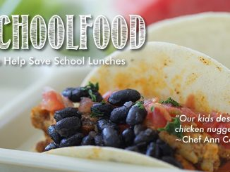 Use #realschoolfood and help donate to improve US school food. Source: PRNewsFoto/Chef Ann Foundation, Boulder CO.
