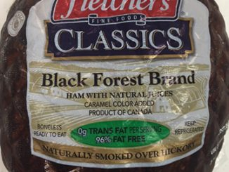 Fletcher's Fine Foods CLASSICS Black Forest Brand Ham with Natural Juices is recalled for potential rubber contamination. Source: USDA FSIS.