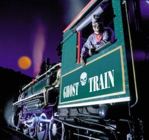 NC Ghost Train. Source: Tweetsie Railroad, tweetsie.com.