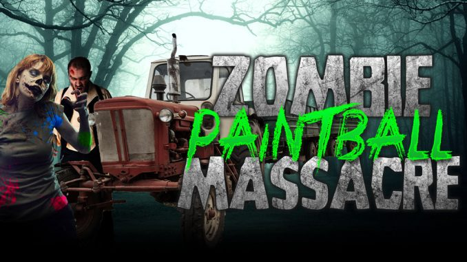 Thornton, Colorado-based Zombie Paintball Massacre is not your normal hayride. Source: hauntedfieldofscreams.com.