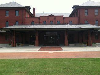 Helen P. Gay Rocky Mount Historic Train Station, Rocky Mount, North Carolina. Photo: Frank Whatley.