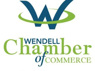 Wendell Chamber of Commerce logo.