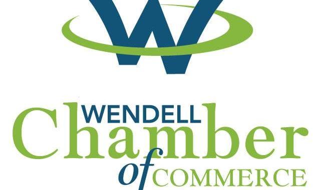 Wendell Chamber of Commerce logo.