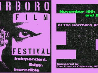 Carrboro Film Festival is November 19-20, 2016, in Carrboro NC.