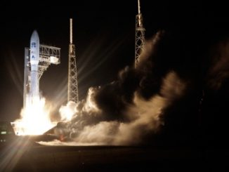 NOAA's GOES-R weather satellite, built by Lockheed Martin, was launched on November 19, 2016, on an Atlas V rocket form Cape Canaveral Air Force Station, Florida. Source: Lockheed Martin.
