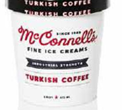 One of several McConnell's ice cream labels released with the recall. Source: FDA.gov