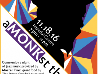aMONKst the art event is November 18, 2016. Source: Young Professionals of the Twin Counties, Rocky Mount NC.