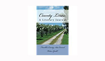 Franklin County NC Writers Guild has published its fourth-annual County Lines: A Literary Journal.