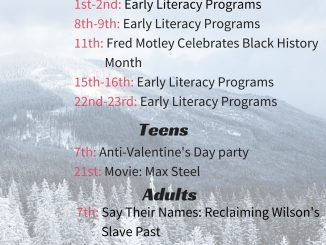 Wilson County Public Library Main Branch Events. Source: Will Robinson.
