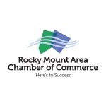 Rocky Mount Area Chamber of Commerce logo.