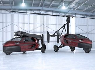 First Commercial Flying Car announced in The Netherlands. Source: PAL-V International B.V.