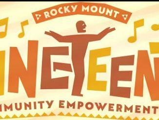 City of Rocky Mount NC Juneteenth logo.