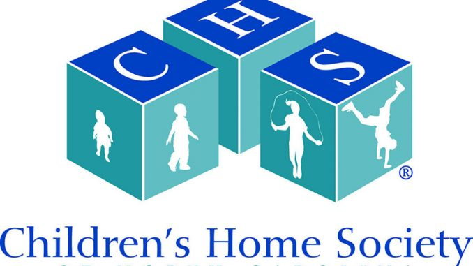 Children's Home Society of North Carolina logo.