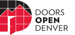 Doors Open Denver logo.