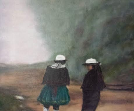 Las Ecuatorianas by Aaron Vick. Source: Donna Campbell Smith, FCAC, Franklinton NC.