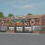 Cinema rendering. Source: Alamo Drafthouse Cinema.