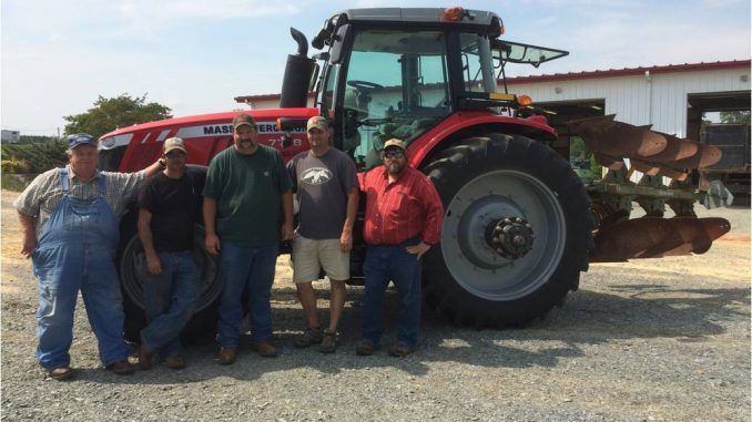 Barnes Tractor donated for NCSU farm. Source: Kiersten Cooley, Flint Group.