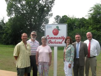 Rocky Mount NC Community Orchard Dedication 2012. Source: City of Rocky Mount.