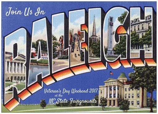 Vintage Fan Fair is November 10-11, 2017, in Raleigh NC.