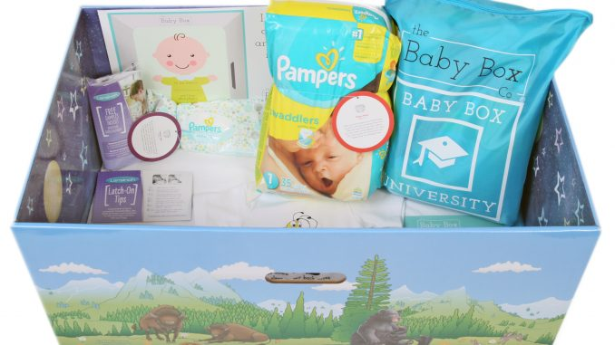 Colorado Baby Box contents. Source: The Baby Box Co.