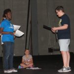 The Hobbit rehearsal. Source: Brooke Edwards, Theater at the Imperial Centre, Rocky Mount NC.
